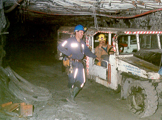 Personnel Transport Introduction Underground Coal